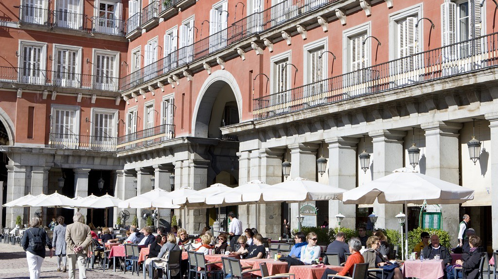 The Plaza Mayor in Madrid | © Madrid Destino Cultura Turismo y Negocio