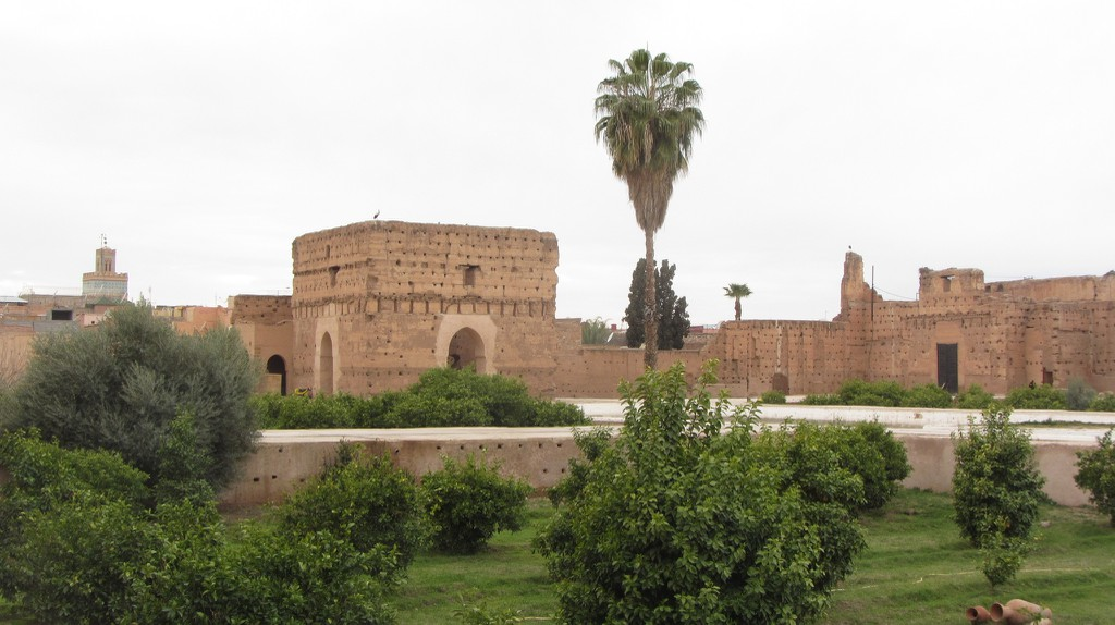 The magnificent ruins of El Badi Palace in Marrakesh | © Stephen Colebourne / Flickr