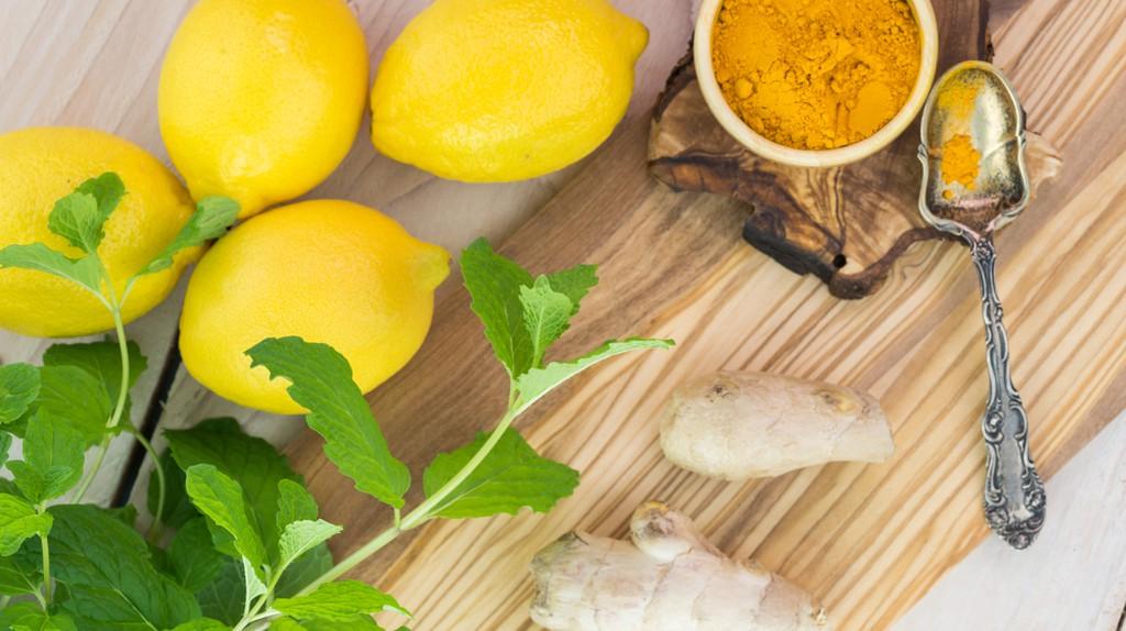 Lemon, ginger and turmeric   Shutterstock