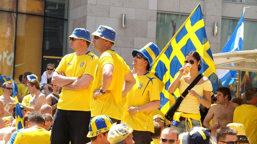 Swedish sports fans | © Wikipedia Commons