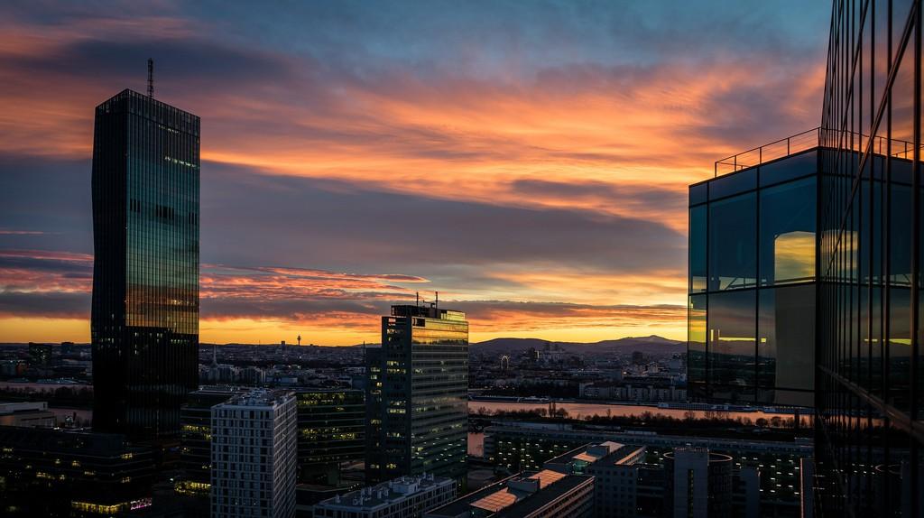 Vienna at sunset | Pixabay