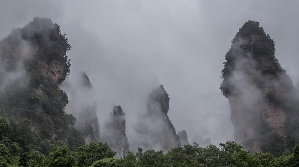 Zhangjiajie   © Jens Schott Knudsen