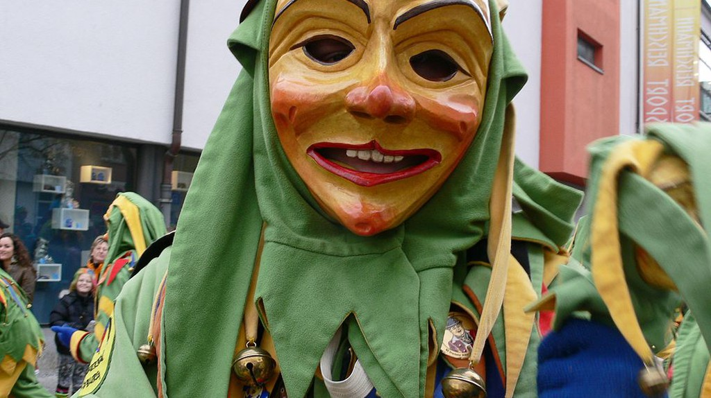 Carnival costume during Fasching | © Andreas Praefcke / Wikimedia Commons
