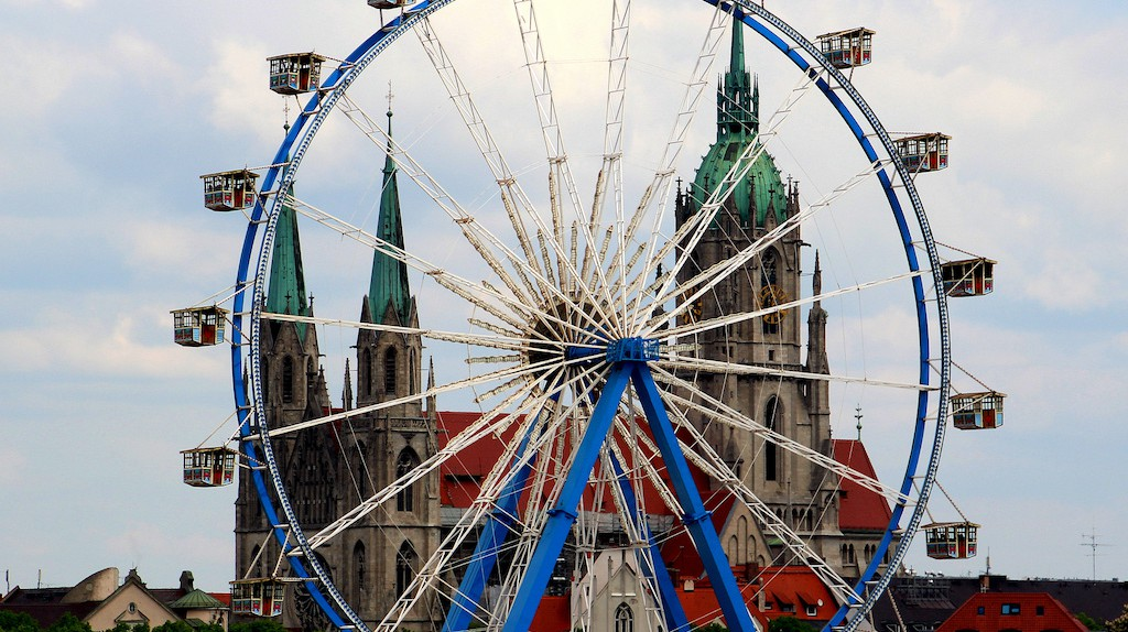 Frühlingsfest in Munich | © spatz_2011 / Flickr