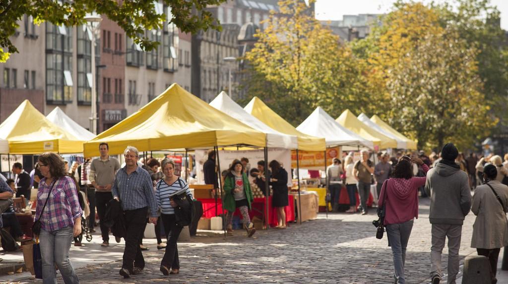 Street Market In Edinburgh | © Greater Grassmarket / Courtesy Of This Is Edinburgh