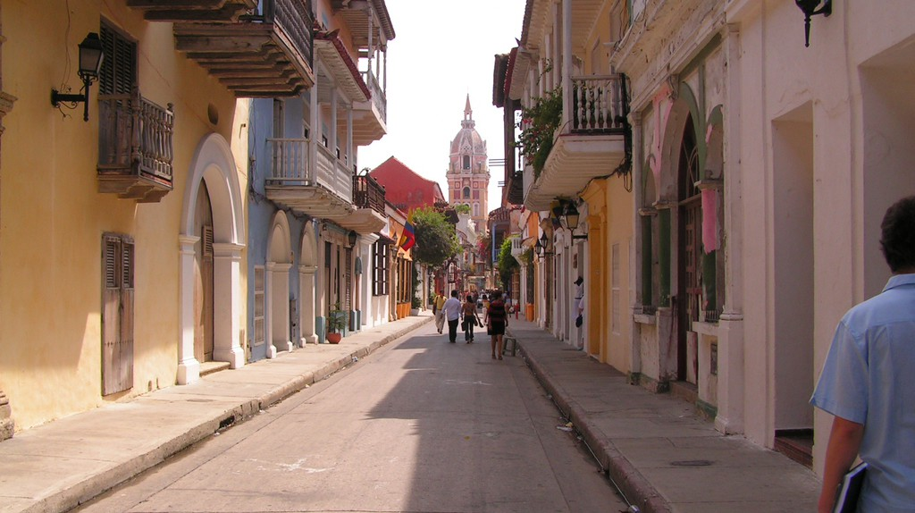 Colonial streets of Cartagena | © OAGREDOP / Flickr
