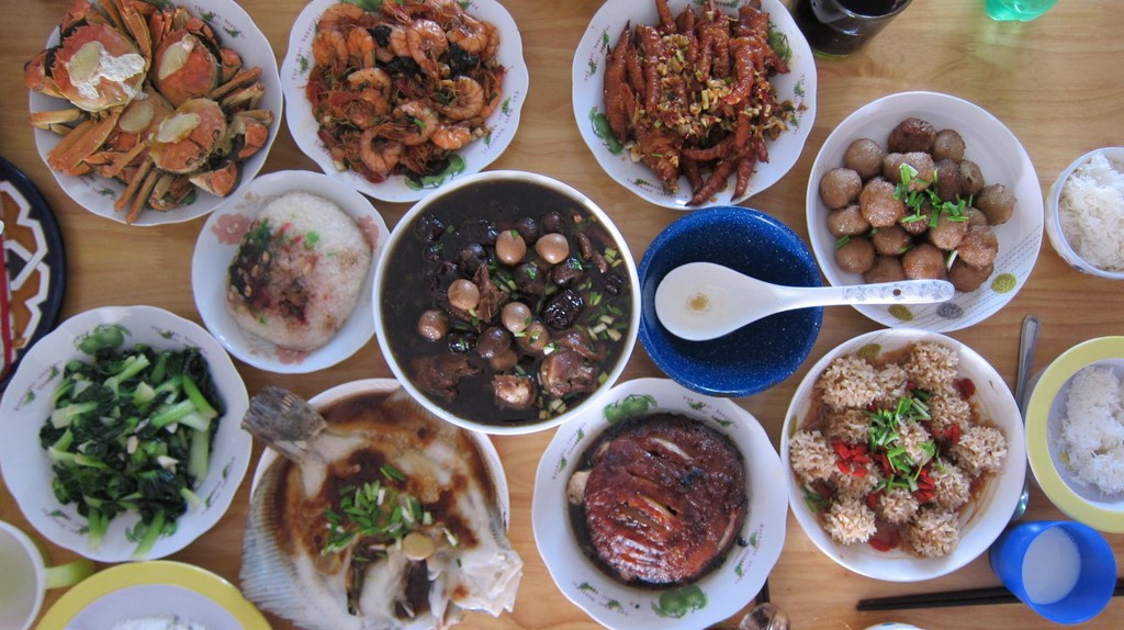 Chinese food | © Micah Sittig/Flickr