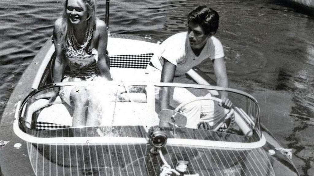 Actors Brigitte Bardot and Sami Frey in St Tropez in 1963 | © WikiCommons