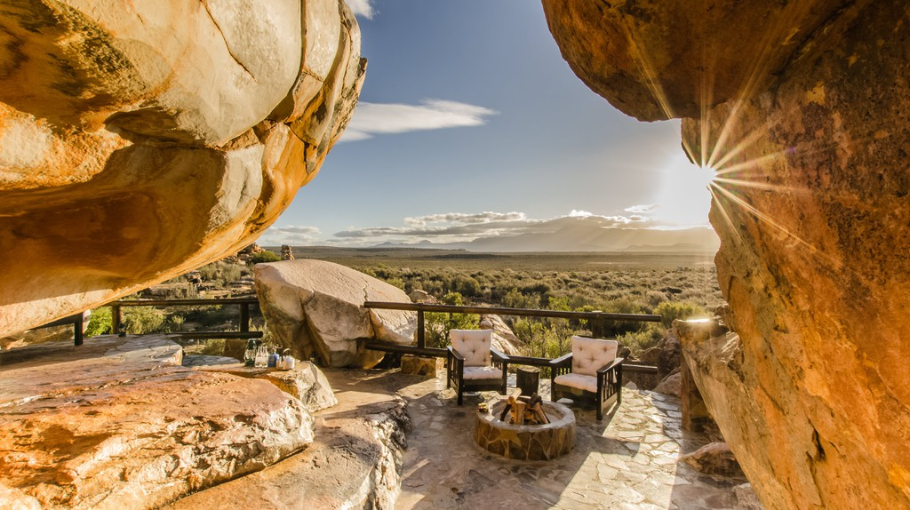 Kagga Kamma's Open Air Rooms are the perfect getaway, as there is no cellphone reception or WiFi | Courtesy of Kagga Kamma Nature Reserve