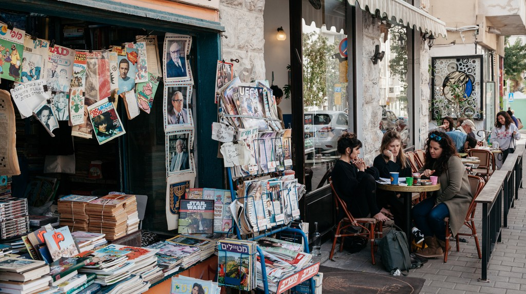 Tel Aviv is renowned for its laid-back café culture