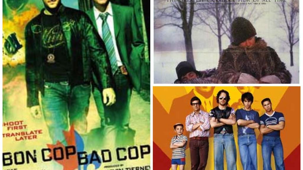 <i>Bon Cop, Bad Cop</i>, <i>Mon oncle Antoine</i>, and <i>C.R.A.Z.Y.</i> | Courtesy of Alliance Atlantis Vivafilm, National Film Board of Canada, and TVA Films