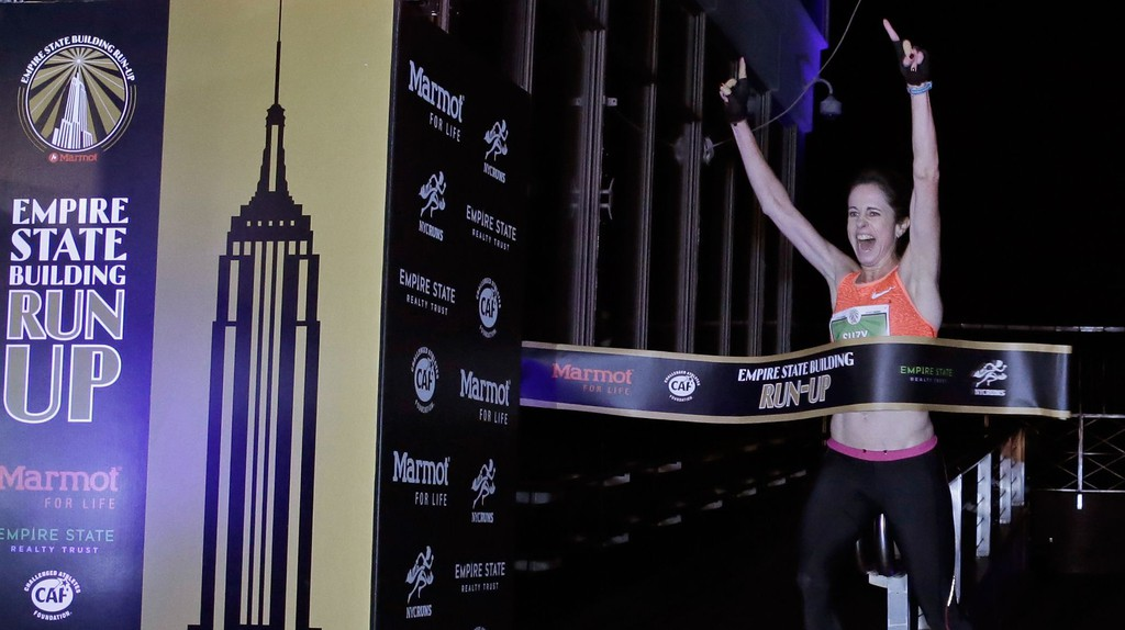 Suzy Walsham won the 40th Empire State Building Run Up in February | © Peter Foley/EPA/REX/Shutterstock