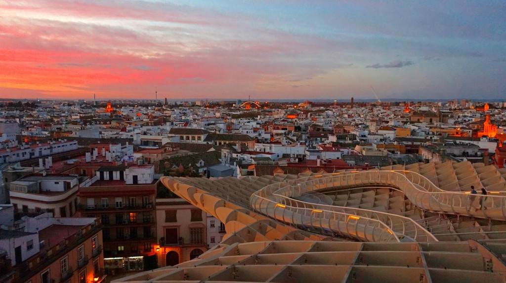 Sunset from Las Setas, Seville | © Encarni Novillo