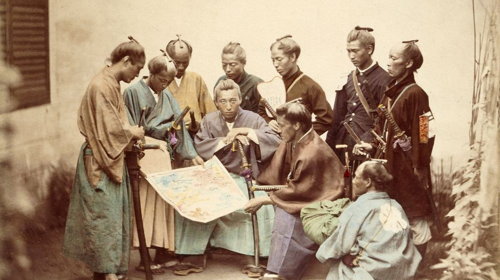 Samurai of the Chosyu clan, during the Boshin War period | ©フェリーチェ・ベアト / Wikipedia