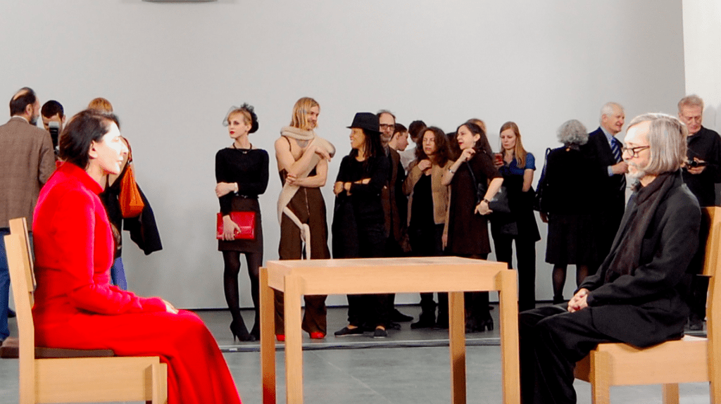 """Marina Abramović: The Artist Is Present,"" at the Museum of Modern Art © Andrew Russeth"