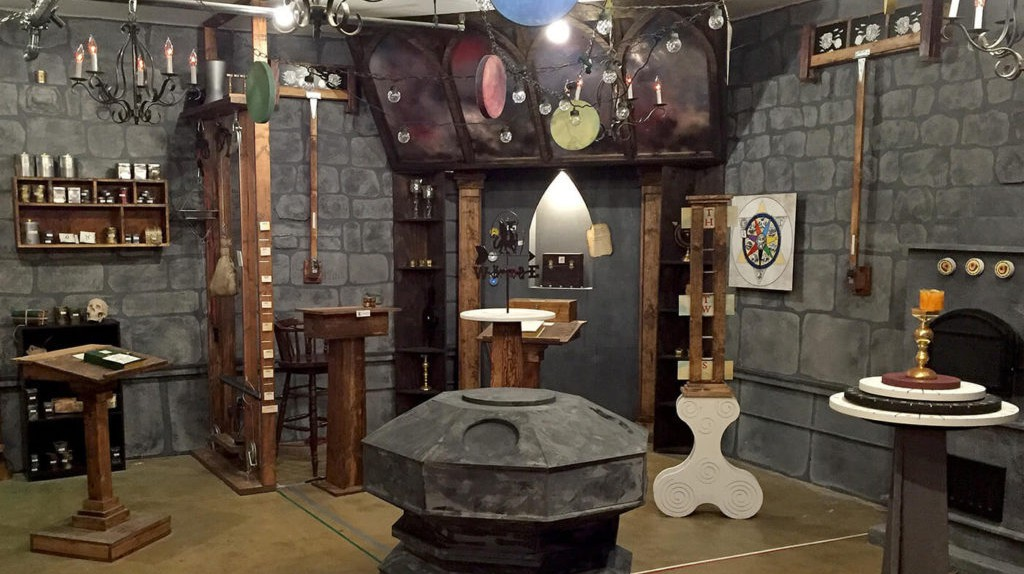 The Alchemist at Escape Room LA|Courtesy of Escape Room LA
