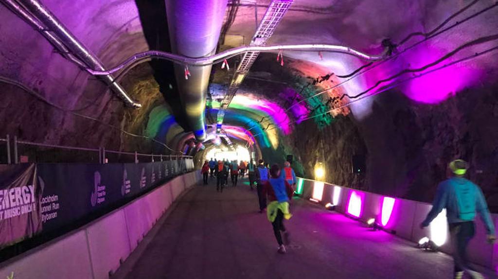 Stockholm's TunnelRun | © Niklas/Courtesy of LidingöLoppet