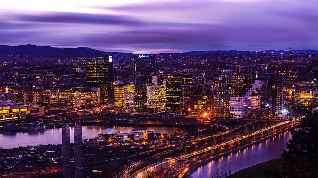 Oslo from Ekeberg © Jørn Eriksson / Flickr