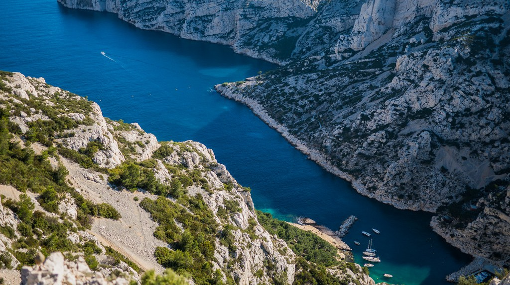 The Calanques in Marseille are one of the city's must-see attractions | © Ludovic Lubeight/Flickr