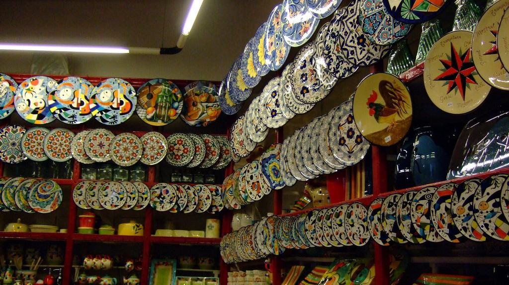 Mallorcan ceramics © Jennifer Low / Flickr