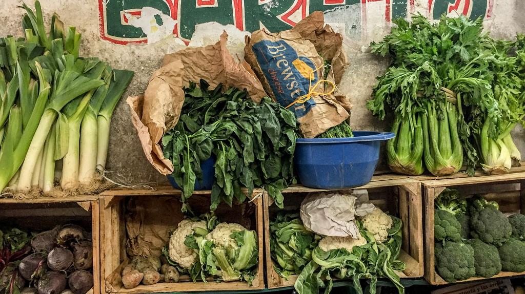 Vegetables at a Mayan market | © barbbarbbarb/Flickr