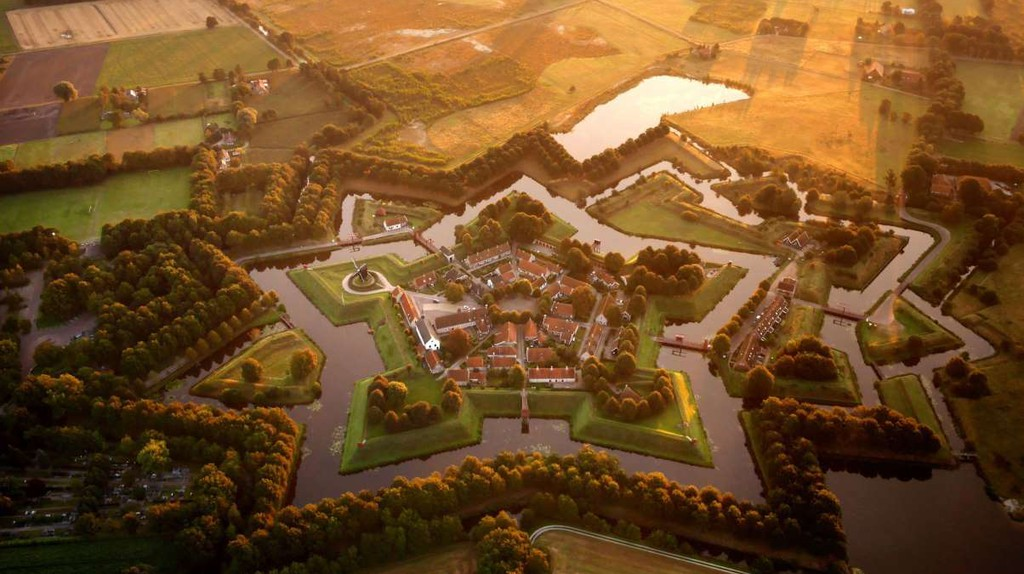 Fort Bourtange from the air | © quiquefepe / Flickr
