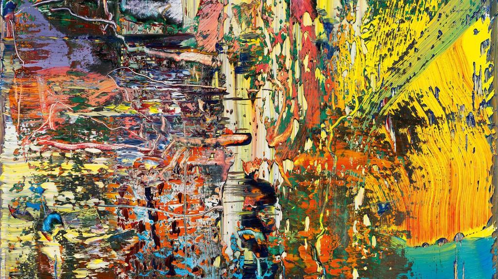 Gerhard Richter 'Abstraktes Bild (947-3)' | © Gerhard Richter 2017/Dresden State Art Collections