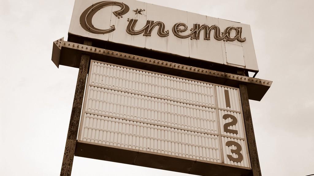 Cinema sign | © Steve Snodgrass