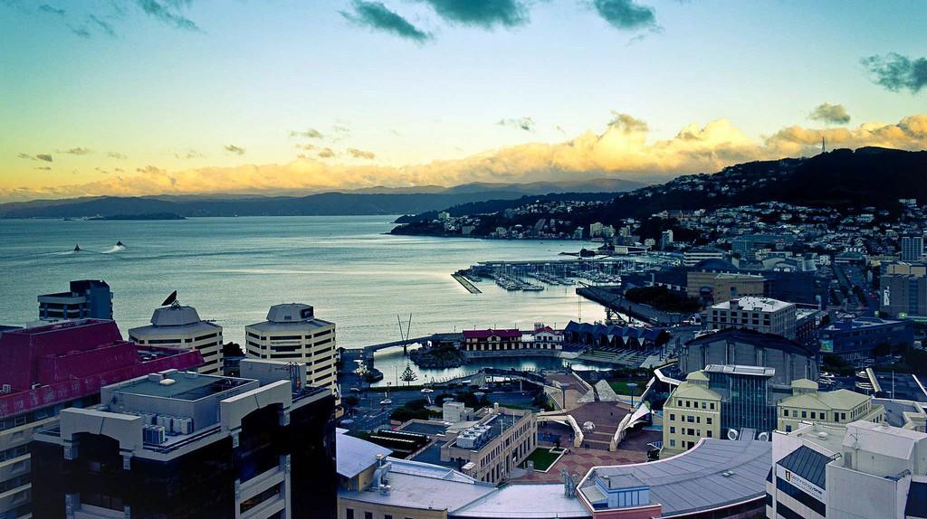 View from the Majestic Centre, Wellington, New Zealand   © Juan Alberto Garcia Rivera/Flickr