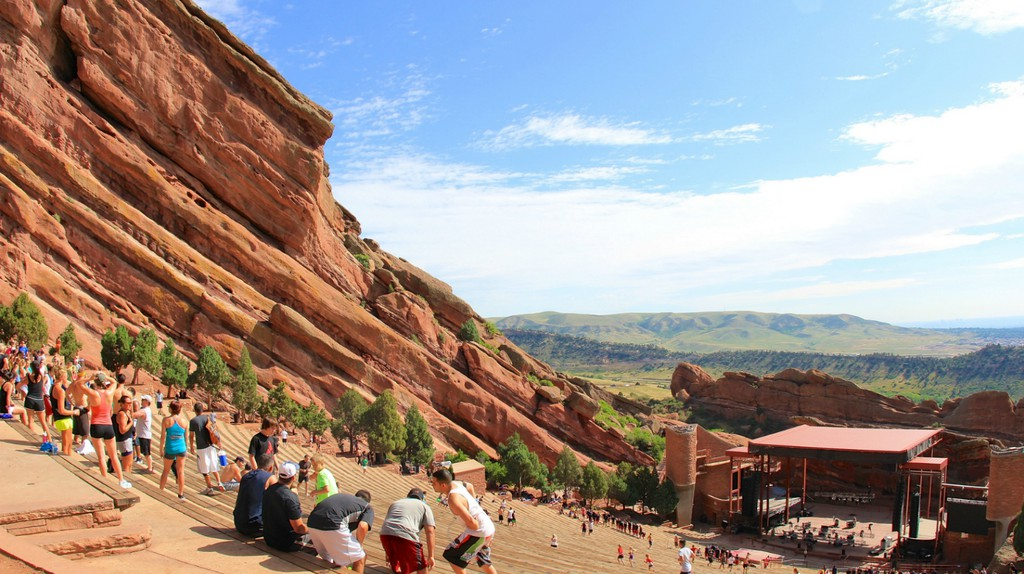 Red Rocks Amphitheatre | © Flickr user daveynin