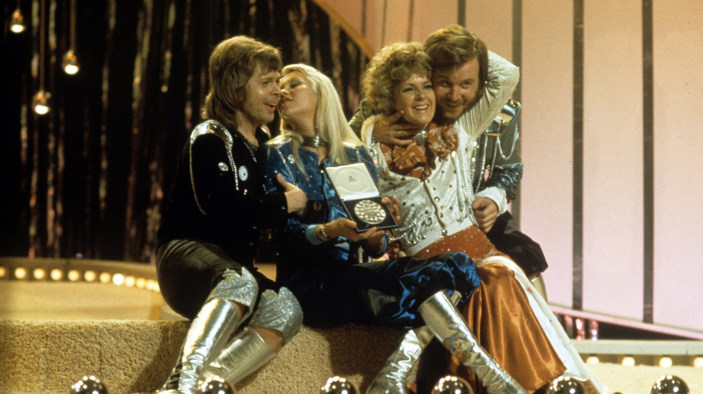 ABBA won the contest in 1974 | © Rex/Shutterstock