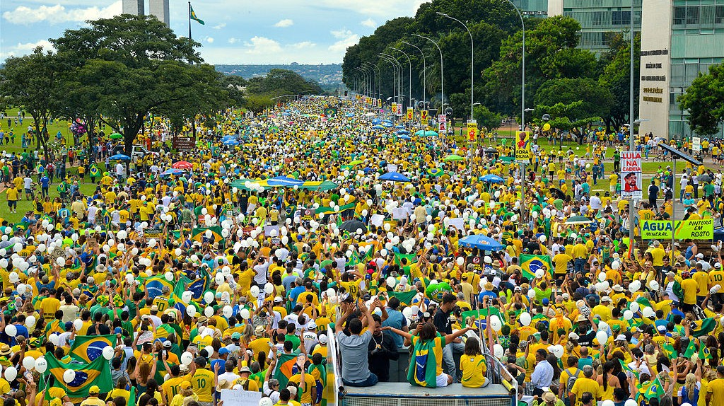 Protests against corruption |© Agência Brasil Fotografias / WikiCommons