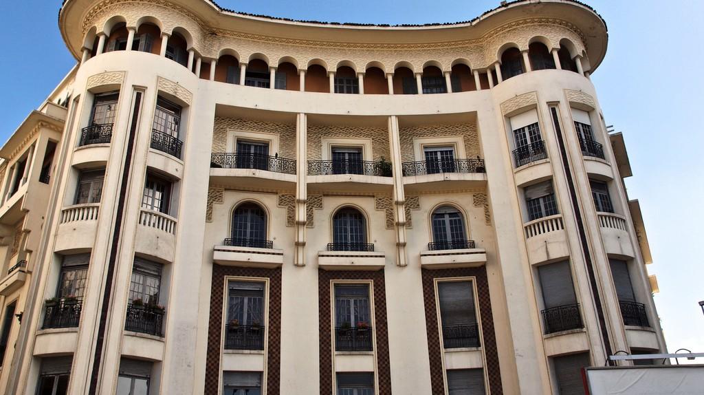 Art Deco architecture in Morocco's Casablanca | © Sandra Cohen-Rose and Colin Rose / Flickr