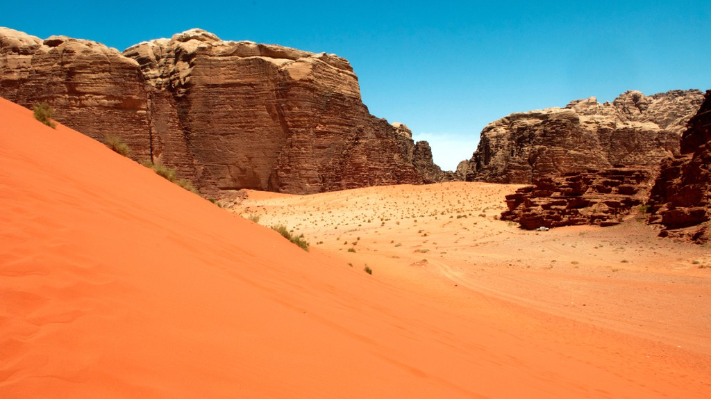 The Wadi Rum Desert in Jordan has featured in a number of sci-fi movies