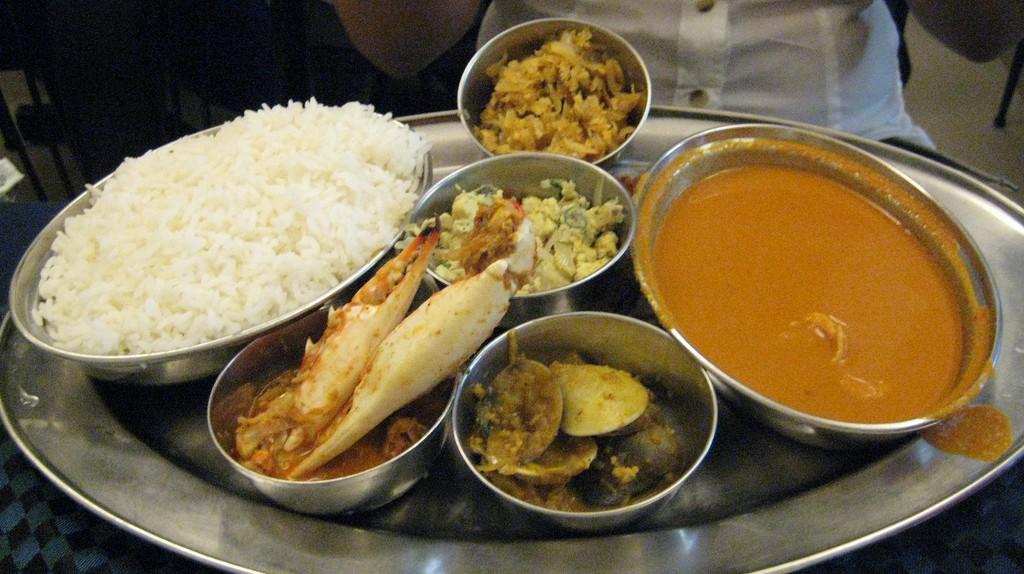 Goan Cuisine © Praveen / Flickr