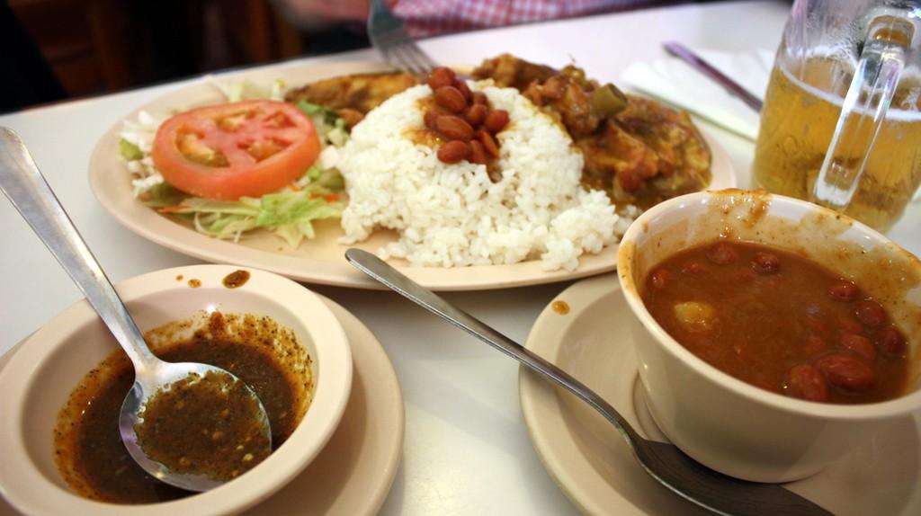 Food from El Jibarito restaurant © Krista/ Flickr