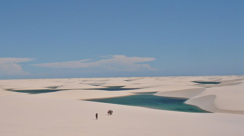 Lençóis Maranhenses National Park | © Vitor 1234/WikiCommons
