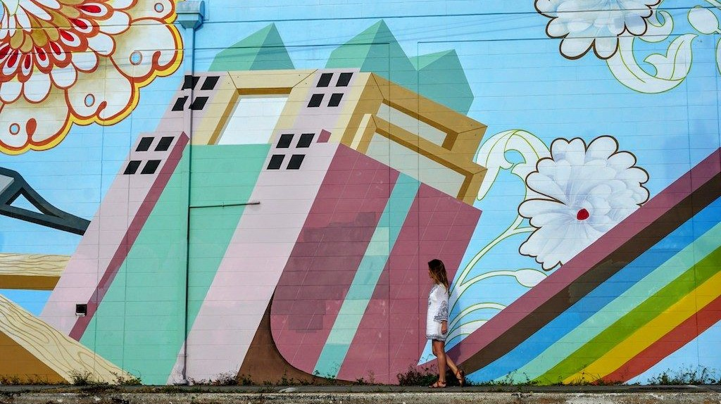 Mural in Mills50 District Orlando    Photo Credit Kelsey Glennon