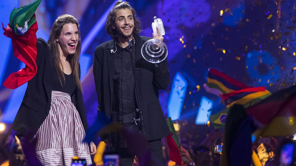 Salvador Sobral of Portugal won this year's Eurovision   © Rolf Klatt/REX/Shutterstock