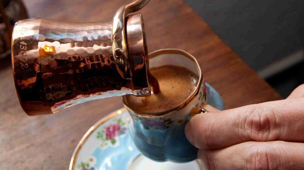 Turkish Coffee   © Eaeeae/ Wikimedia Commons
