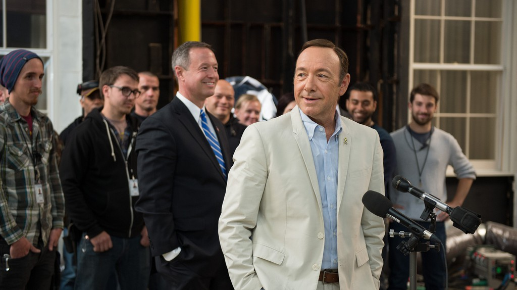 Kevin Spacey at the House of Cards studio | ©Maryland GovPics / Flickr