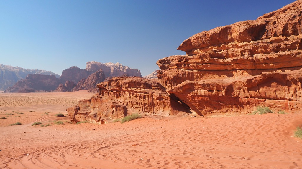 Wadi Rum Jordan   © pablosuka / Pixabay