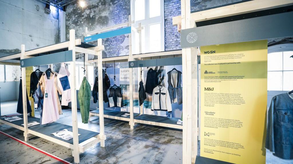 WGSN Sustainable Denim Collection at Amsterdam's Denim Days © WGSN