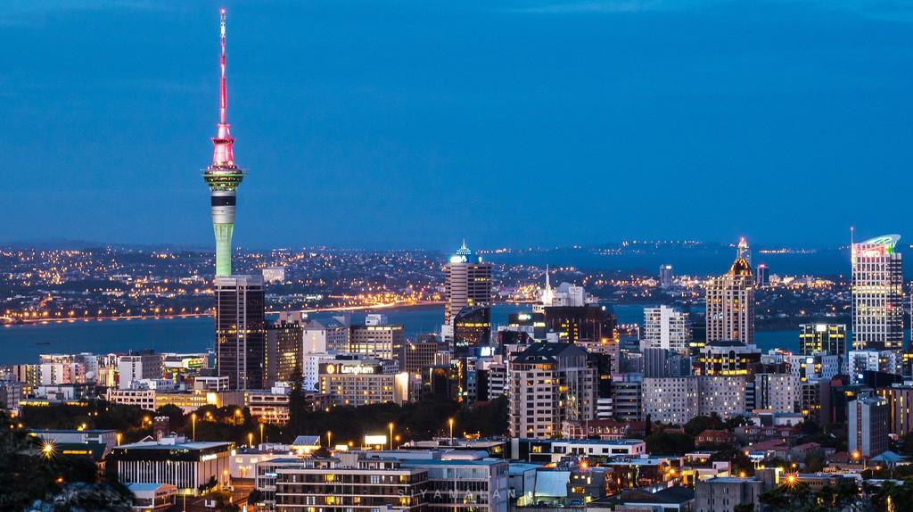 Auckland from Mt Eden | © Siyamalan/Flickr