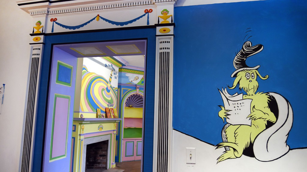 Dr. Seuss   Courtesy of Springfield Museums