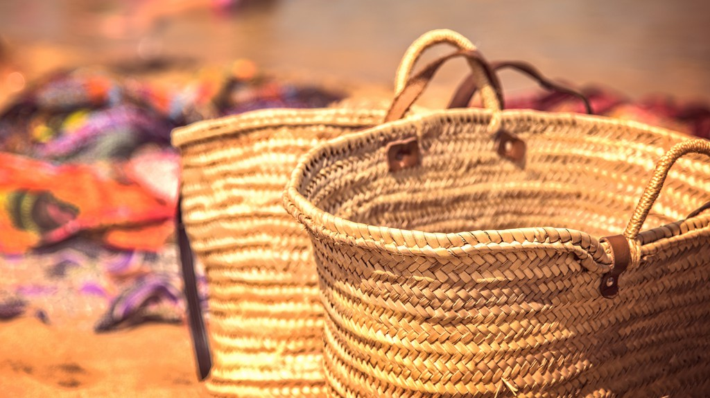 beach baskets © Roberto Faccenda / Flickr