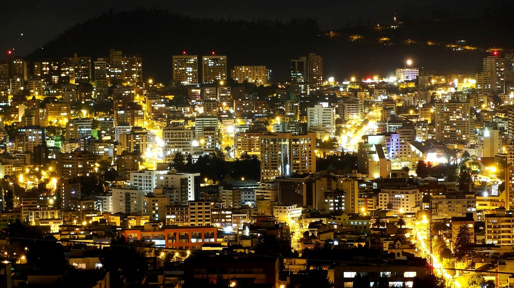 Quito at night | © Cristian Ibarra Santillan/Flickr