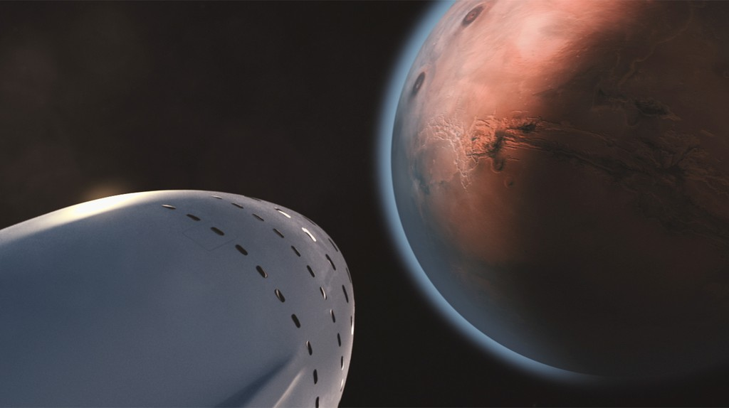 Elon Musk wants to make your trip to Mars comfortable | © SpaceX