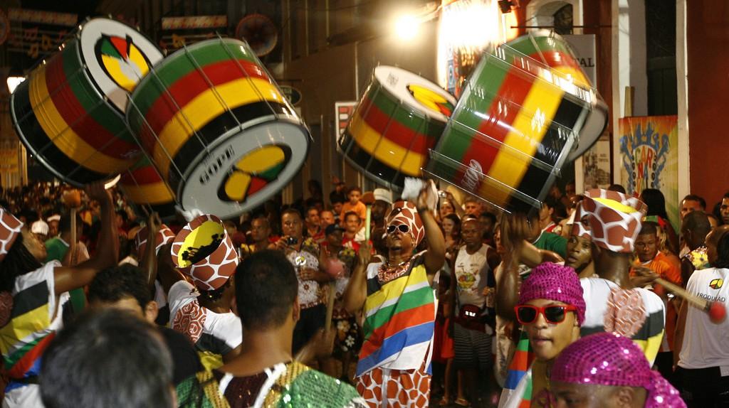 Drums at Carnival Roberto © Viana/AGECOM/Flickr