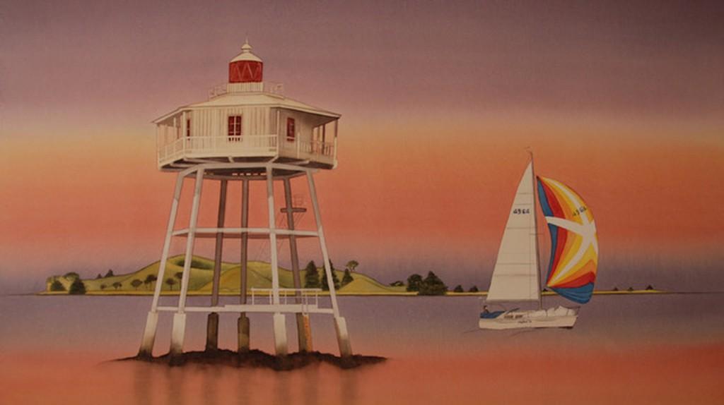 Bean Rock Lighthouse, by Carolyn Judge | © Image Courtesy of Carolyn Judge